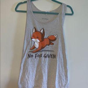 No fox given kawaii tank top!